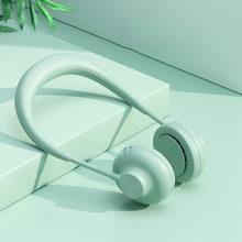 Мини USB портативный вентилятор шейный платок с перезаряжаемым 3 скоростным персональным воздушным спортивным вентилятором охлаждающий кон...(Китай)