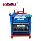 Malaysia Manual Concrete Block Machine QT4-35A Interlocking Concrete Block Machine Malaysia Manual Interlocking Brick Making Machine
