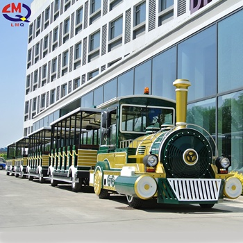 Diesel train, Battery trackless train ride, road train for sale
