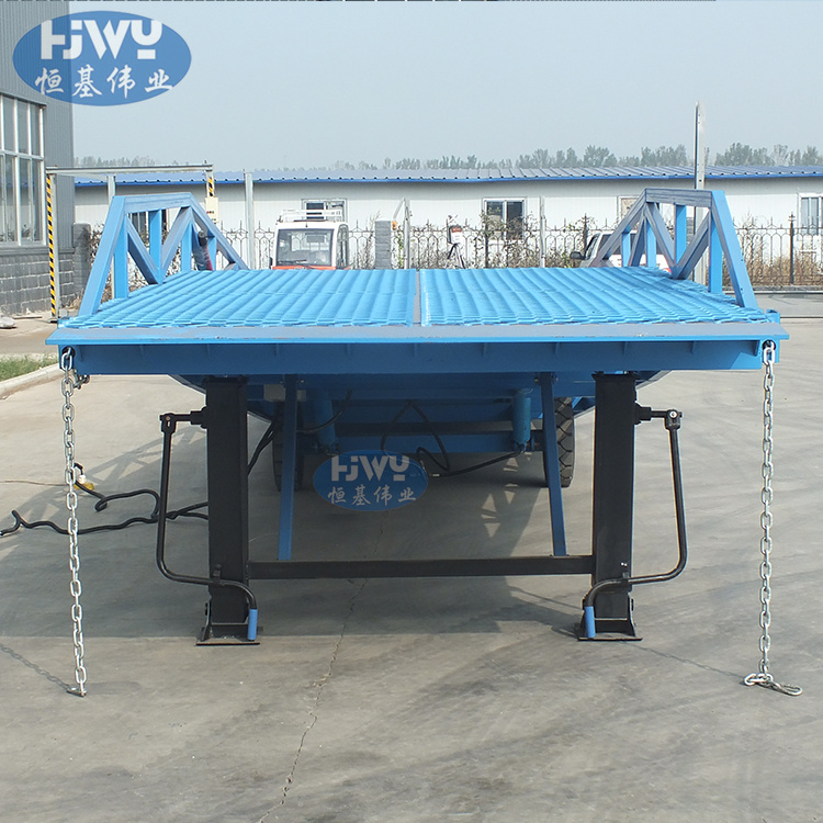 Truck unloading ramps loading dock ramps container unloading ramp
