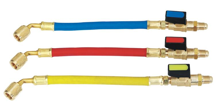 Refrigeration Spare Parts Charging Hose For R410 R22 R12 R502 R134a