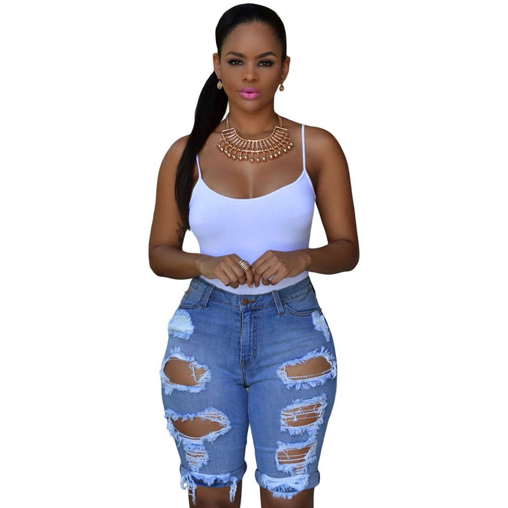 Pantalones Cortos Vaqueros Azules De Mujer Buy Mujer Jean Denim Jean Azul Product On Alibaba Com