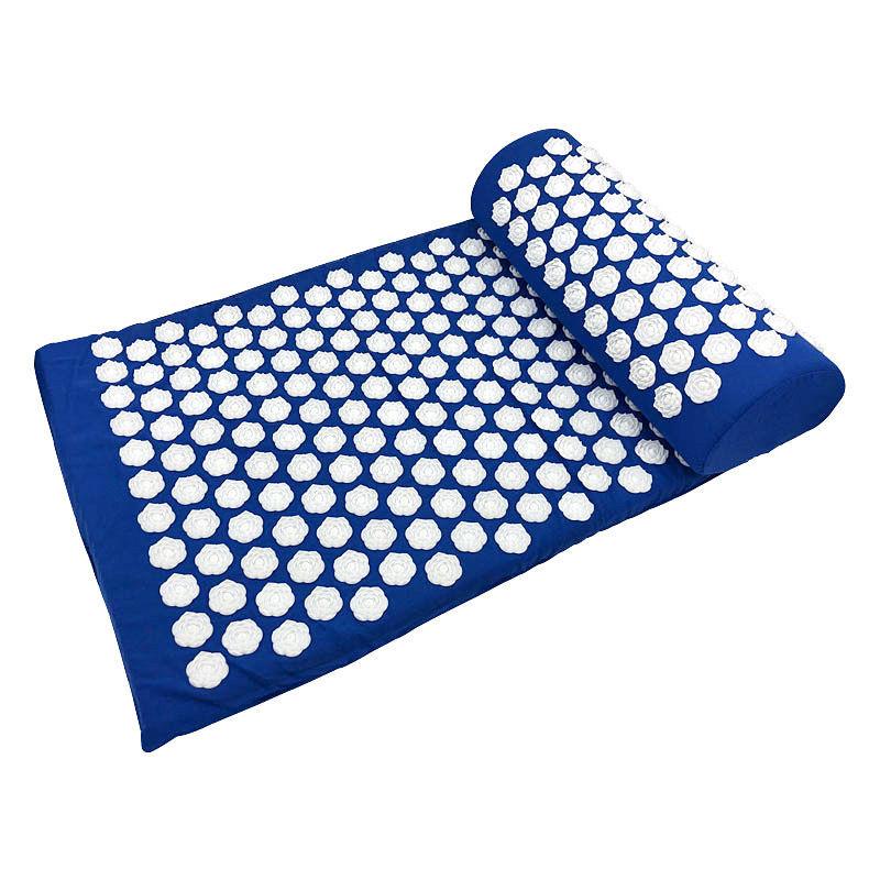 Портативный удобный коврик для снятия стресса, иглоукалывание, Массажная подушка для тела, акупрессурный коврик, иглоукалывающий коврик