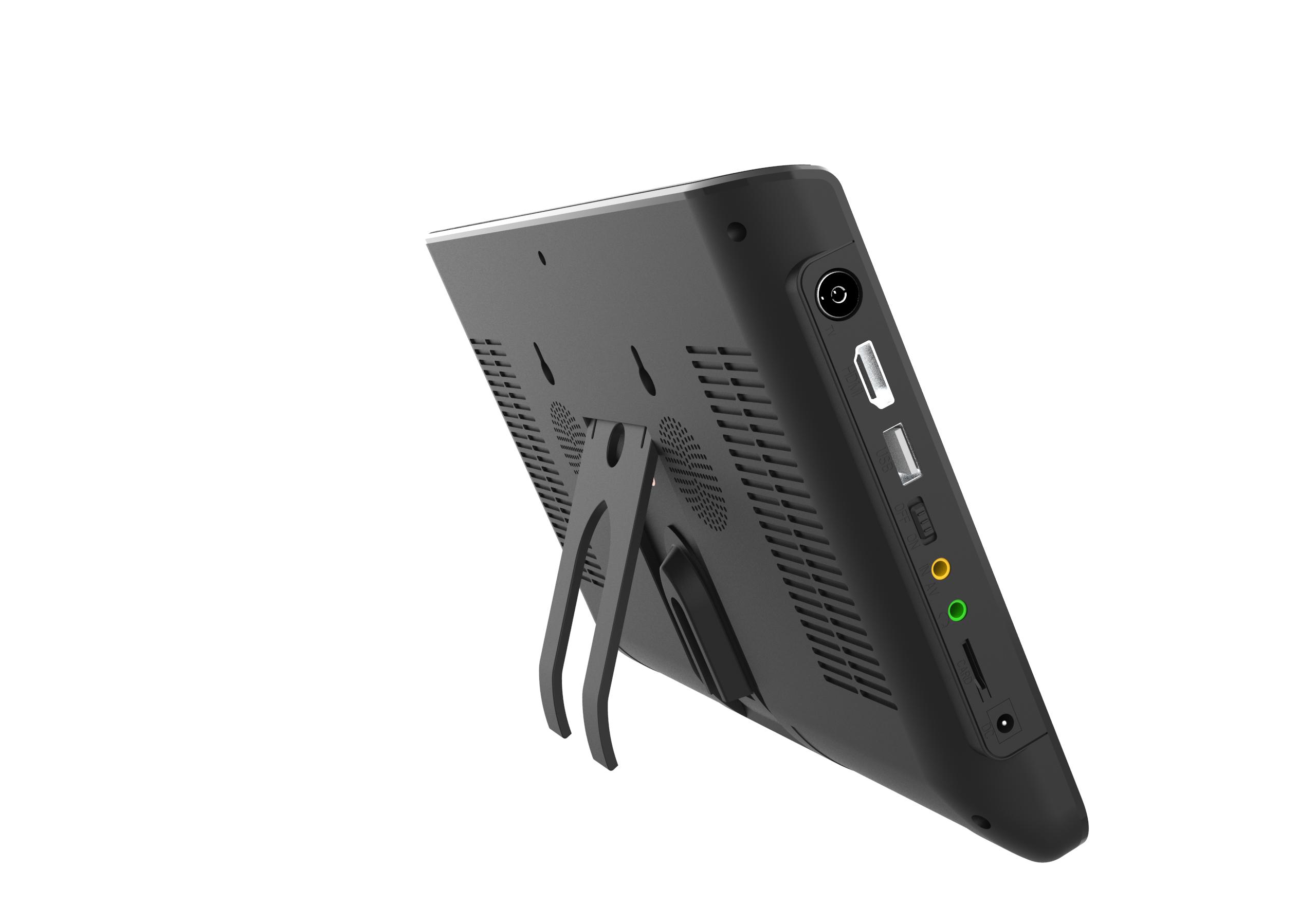2021New поступление 10 дюймов HD Портативный ТВ DVB-T2 цифровой аналоговый телевизионный мини, без рамки, с изображением маленькой машины ТВ аналоговый мини небольшой автомобильный телевизор