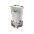 Drying AIM Heat Pump Energy Saving Bucket Type Farm Applicable Small White Black Red Pepper Chilli Drying Machine