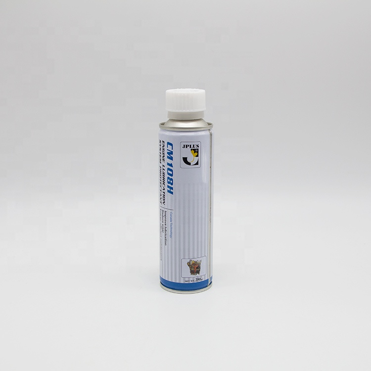 Customized printing 65mm aerosol can with plastic cap