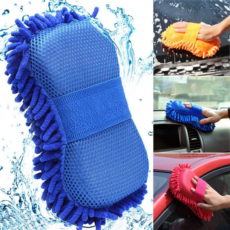 Перчатка для мойки автомобиля, щетка из волокна для чистки окон