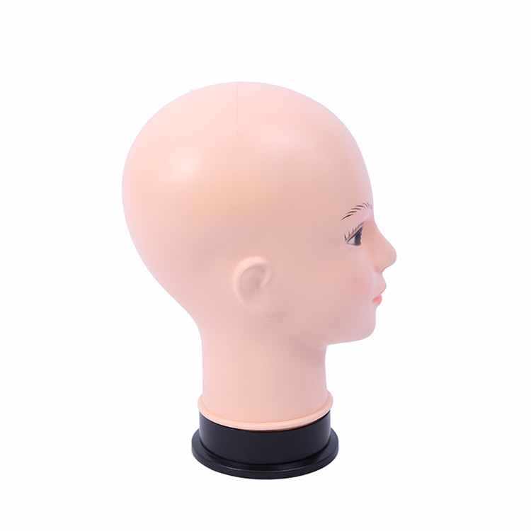 New arrivals reality lifelike wig display mannequin head and best wig stand mannequin head
