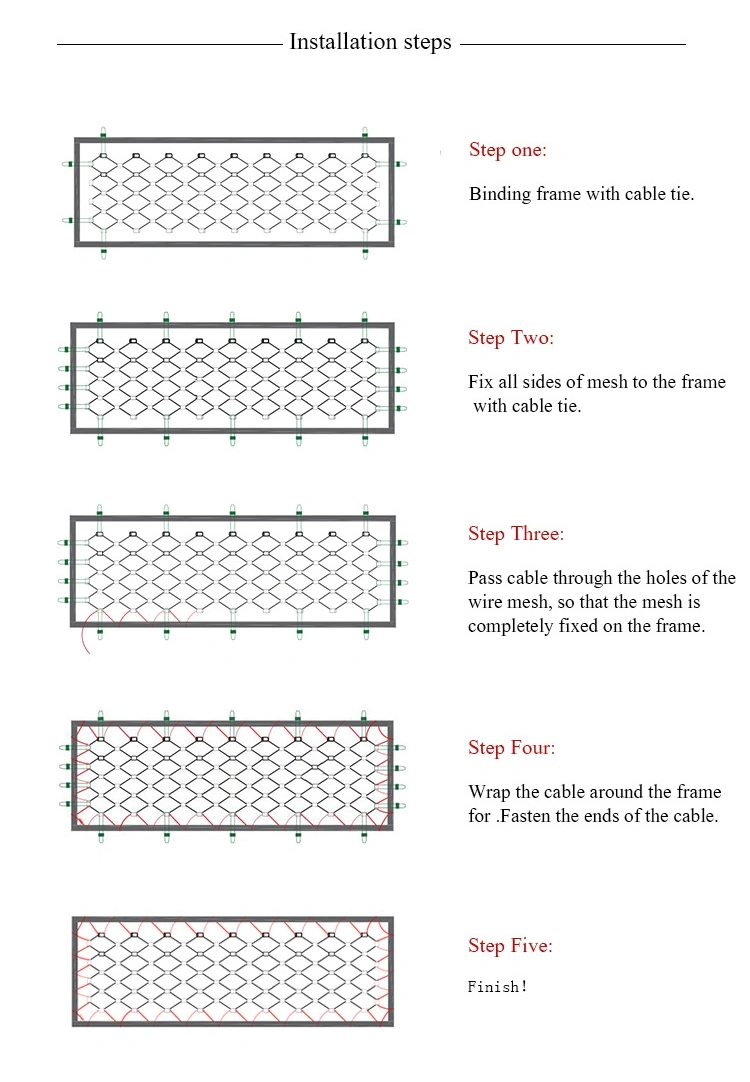 latest company news about Stainless Steel Wire Rope Mesh For Zoo