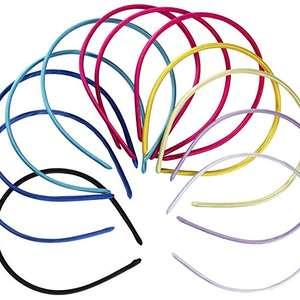 BNT diy headband kids plastic flower bow hair band girl head bands for girls babies