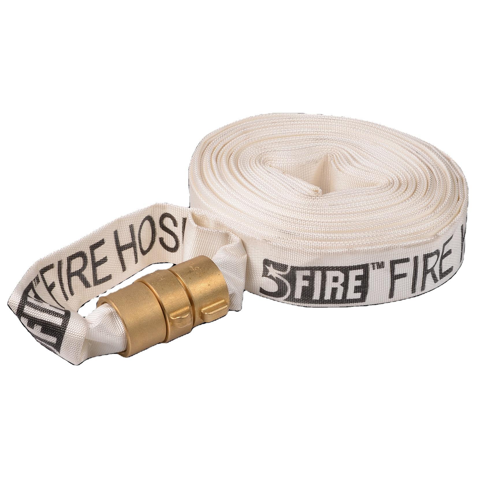 Пожарный шланг firehose с расширительными кольцами, резина/ПВХ/ТПУ, от 1 до 8 дюймов, от 15 м до 30 м