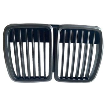 Front Kidney Matte Black Grill Grilles Styling Accessory For BMW E30 318 320 325 1982-1994 Car Front Bumper Grille