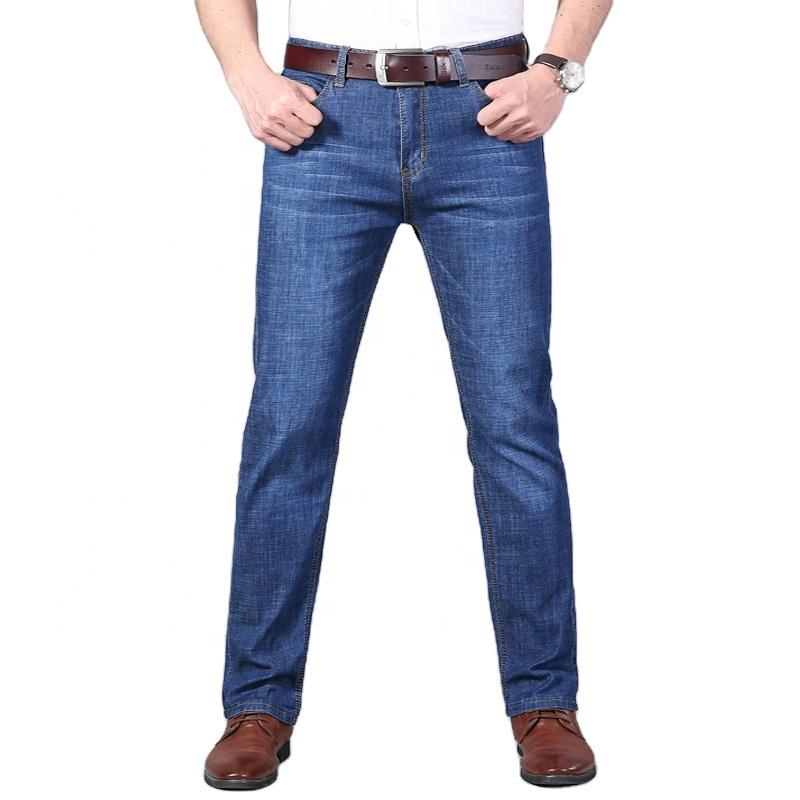 Pantalones Vaqueros Rectos Azules Personalizados Para Hombre Elasticos Lavado Alta Calidad Precio Bajo Fabrica Oem China Buy Vaqueros Para Hombres De Los Hombres Pantalones De Jean Para Hombre Pantalones Product On Alibaba Com