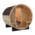Traditional Barrel Steam Sauna Room wooden sauna