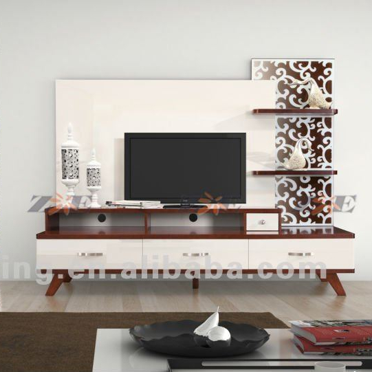 Modern Living Room Tv Cabinet Design Fa11 Buy Modern Tv Cabinet Tv Unit Design Furniture Mixing Black And White Furniture Product On Alibaba Com