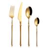 4pcs gold shiny