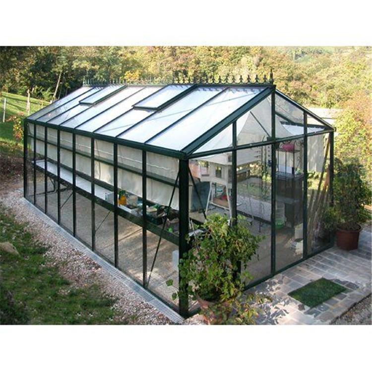 Topwindow, большой алюминиевый профиль из алюминиевого сплава, небольшая недорогая рамка, стеклянная садовая теплица