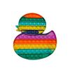 20CM duck rainbow