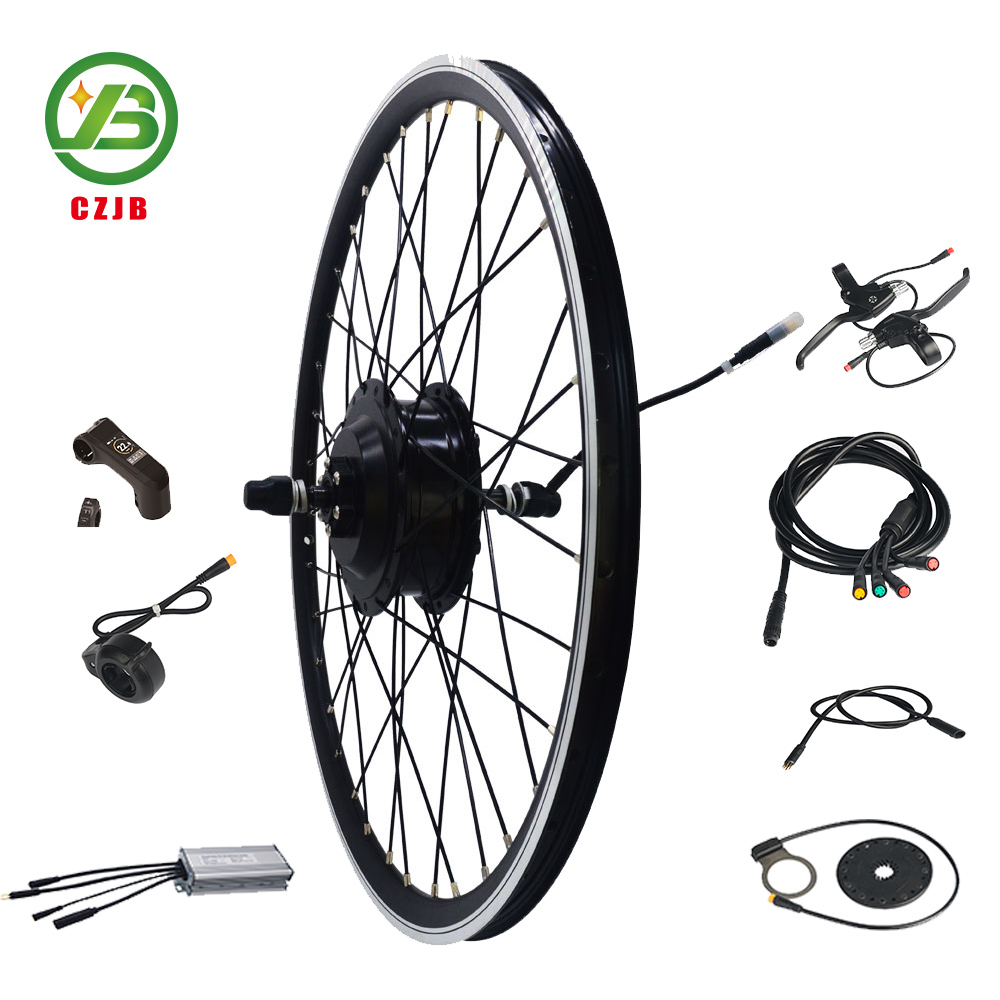 Factory wholesale Ce Approved 26 Inch waterproof diy e-bike Bicycle Motor Kit 36V 48V 500W For Electric Mountain Bike