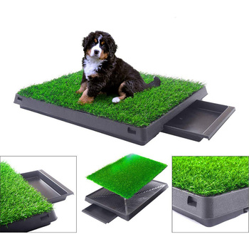 Travel Mat Training Waterproof Pee Seat with Ladder Dog Potty Toilet for Dogs