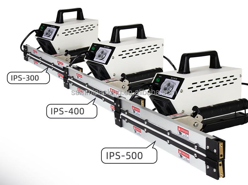 Newest design IPS-400 PE film Hand Impulse Sealer Hand held Heat Impulse Sealer Manual Sealing Machine for plastic bag