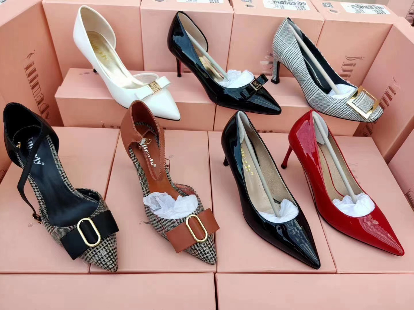 Made in China 2021 Hot sell cheap and High quality stock high heels for women