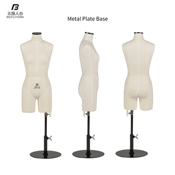 BEIFUFORM Female Mini Mannequin for Tailors and Garment Student Half scale Dress Forms