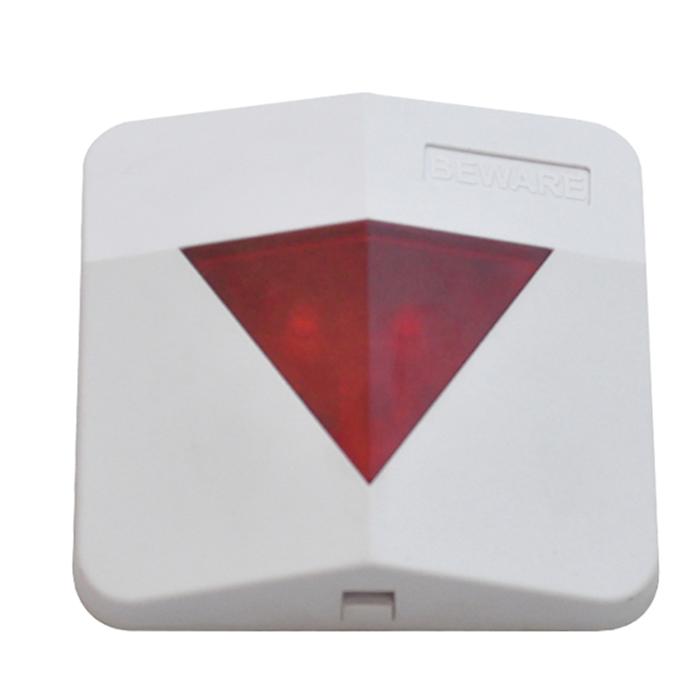 24V conventional fire alarm siren with LED alarm strobe light siren