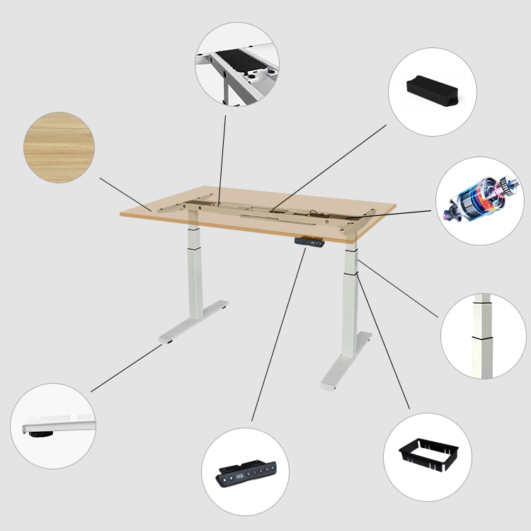 Office Furniture Cheap Computer Table Computer Adjustable Desk Gaming Table