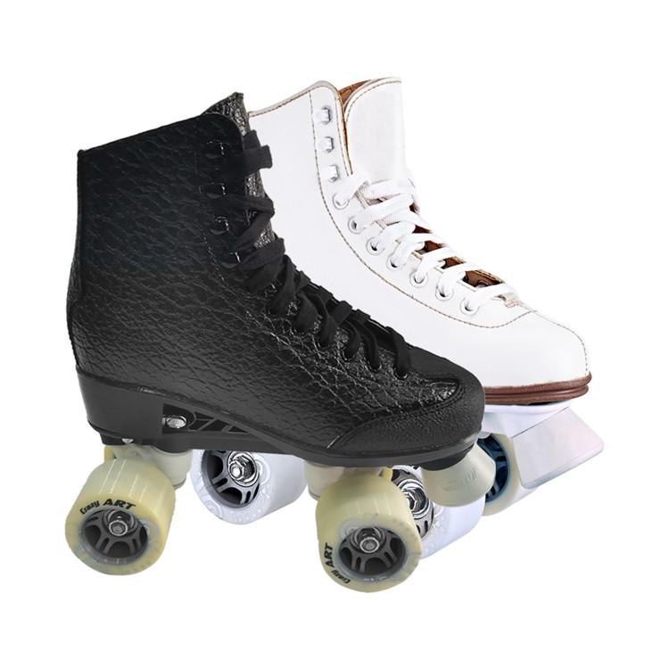 Заказной Профессиональный роликовых коньках обувь квадрациклов 4 колеса для взрослых, женская пижама, Прокат загрузки