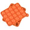 Orange Pink lollipop mold