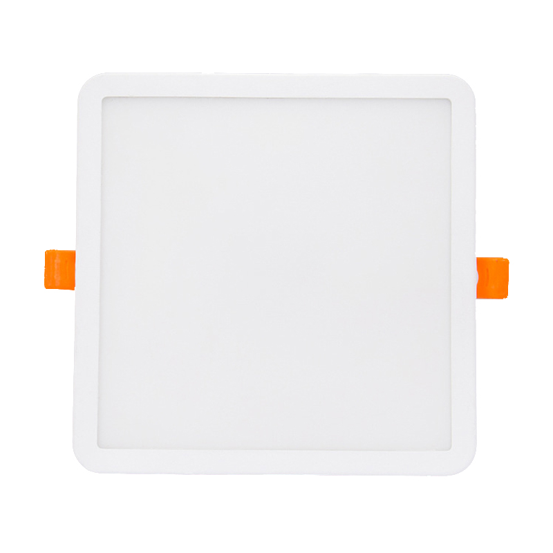 Manufacturer New ultra thin slim recessed 3000K 4000K 6500K 2 years warranty square led ceiling light