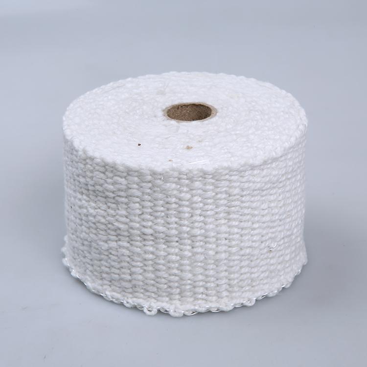Китайский поставщик керамического волокна прокладка ленты 3 м керамического волокна лента для изоляции