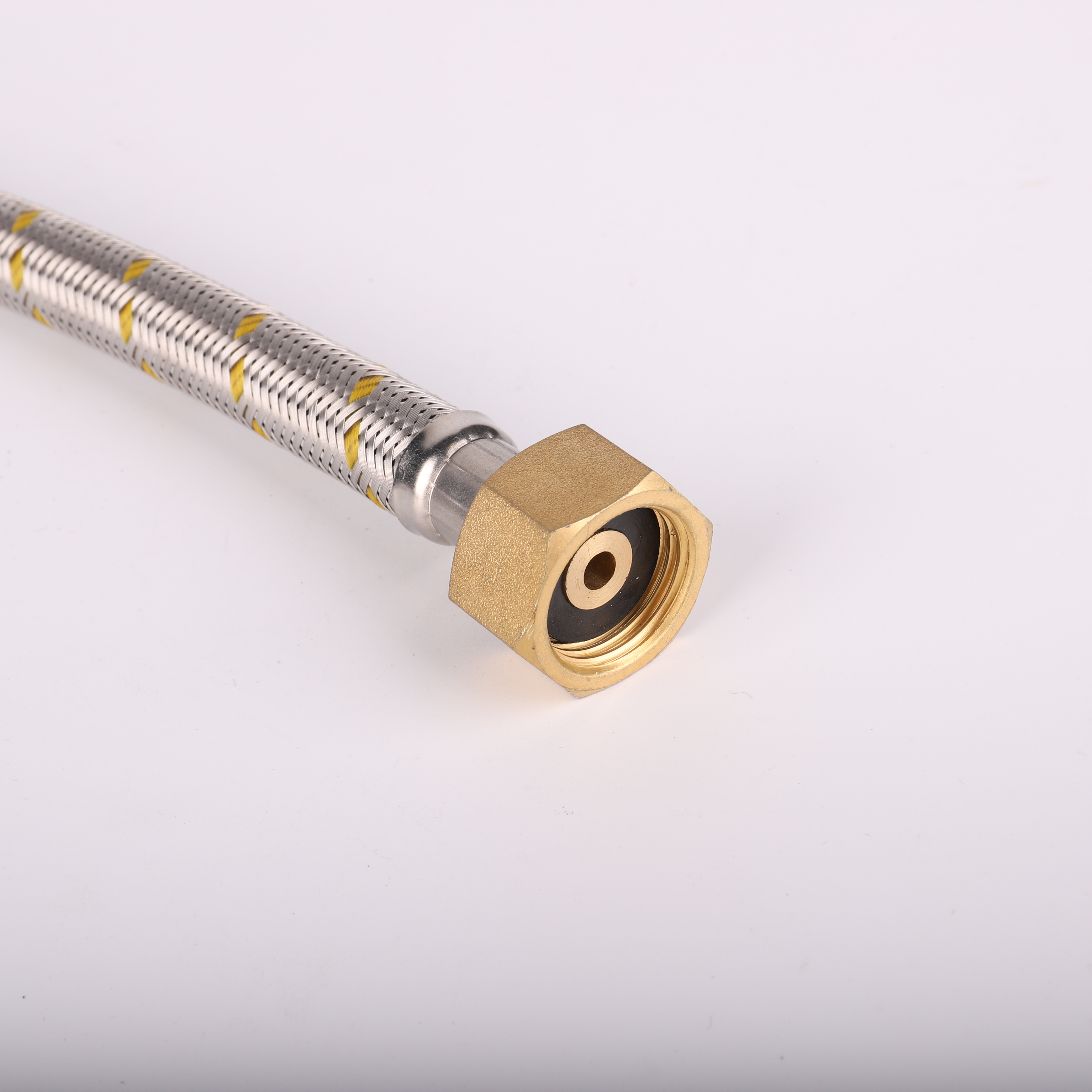 Low Price Wholesale All Size Customizable 1/2 Inch 40CM Natural Gas Hoses Braided Hose Pipes