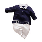 Baby Boy Polo Baby Boy Romper Spring And Autumn Long-sleeve Infant Boy Clothing POLO Shirt Style Jumpsuit