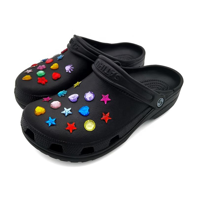 Custom EVA Shoes Men Croc Customize Gardening Clogs Croc Designs Garden Shoe Tops Sandalias Croc Original Clogs For Men