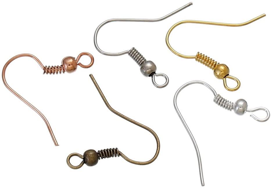 Гипоаллергенные хирургические серьги с французским крючком из нержавеющей стали 316l, серьги с крючком
