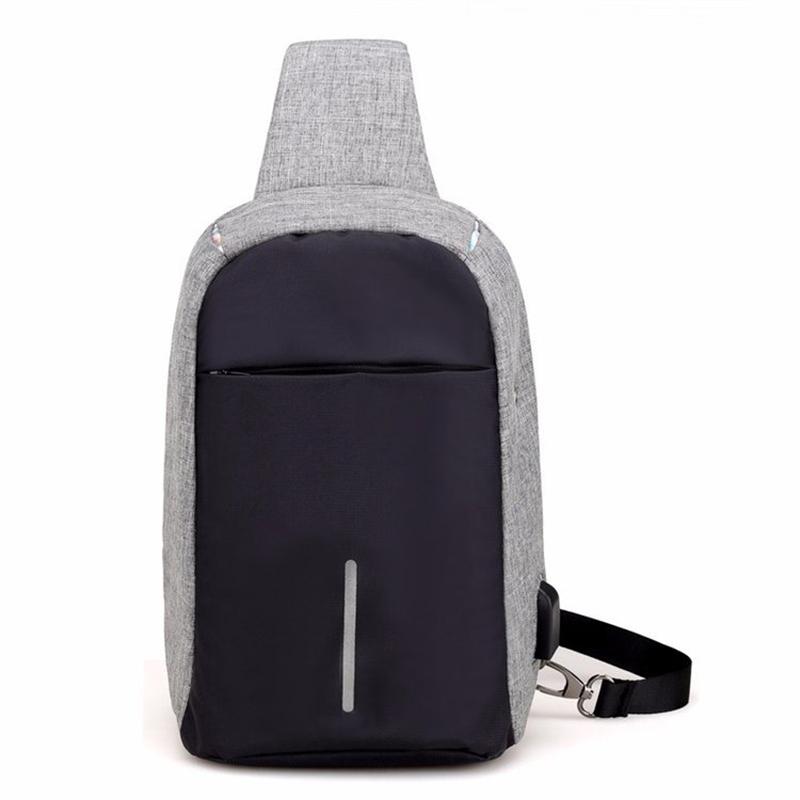 sling bag men Custom Best Sport hiking sling bag best sell man triangular Shoulder Backpack with one strap