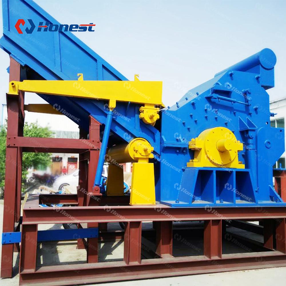 Машина для переработки ротора лома мощностью 2 т/ч
