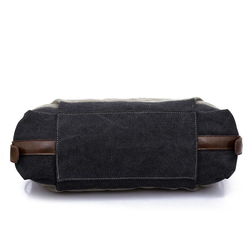 Fashion Custom logo Contrast Color Combination bags handbags for women Canvas shoulder eco Handbags