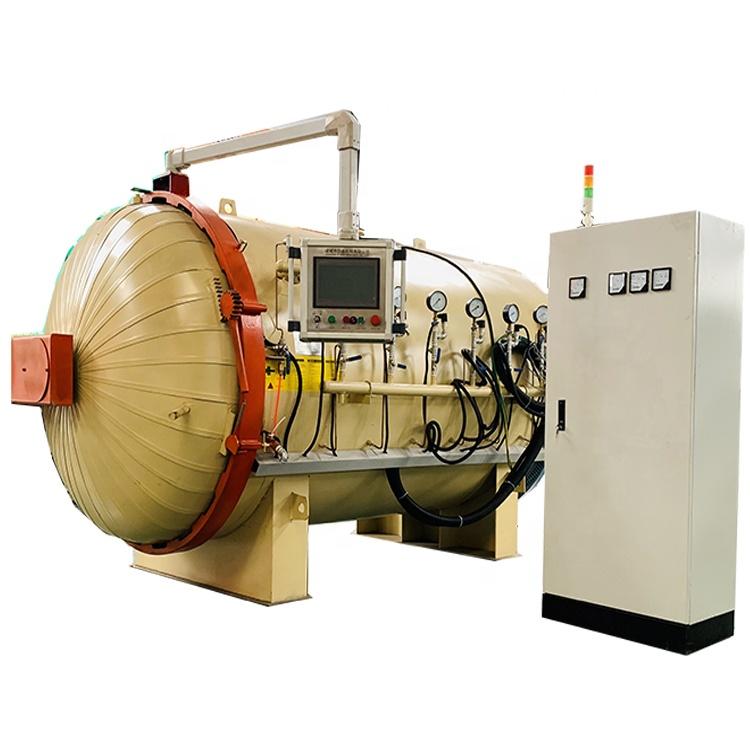Автоматический композитный автоклав для резервуара высокого давления из углеродного волокна, высокая температура, высокое давление, горячий воздух, под заказ 150 - 220 2 МПа
