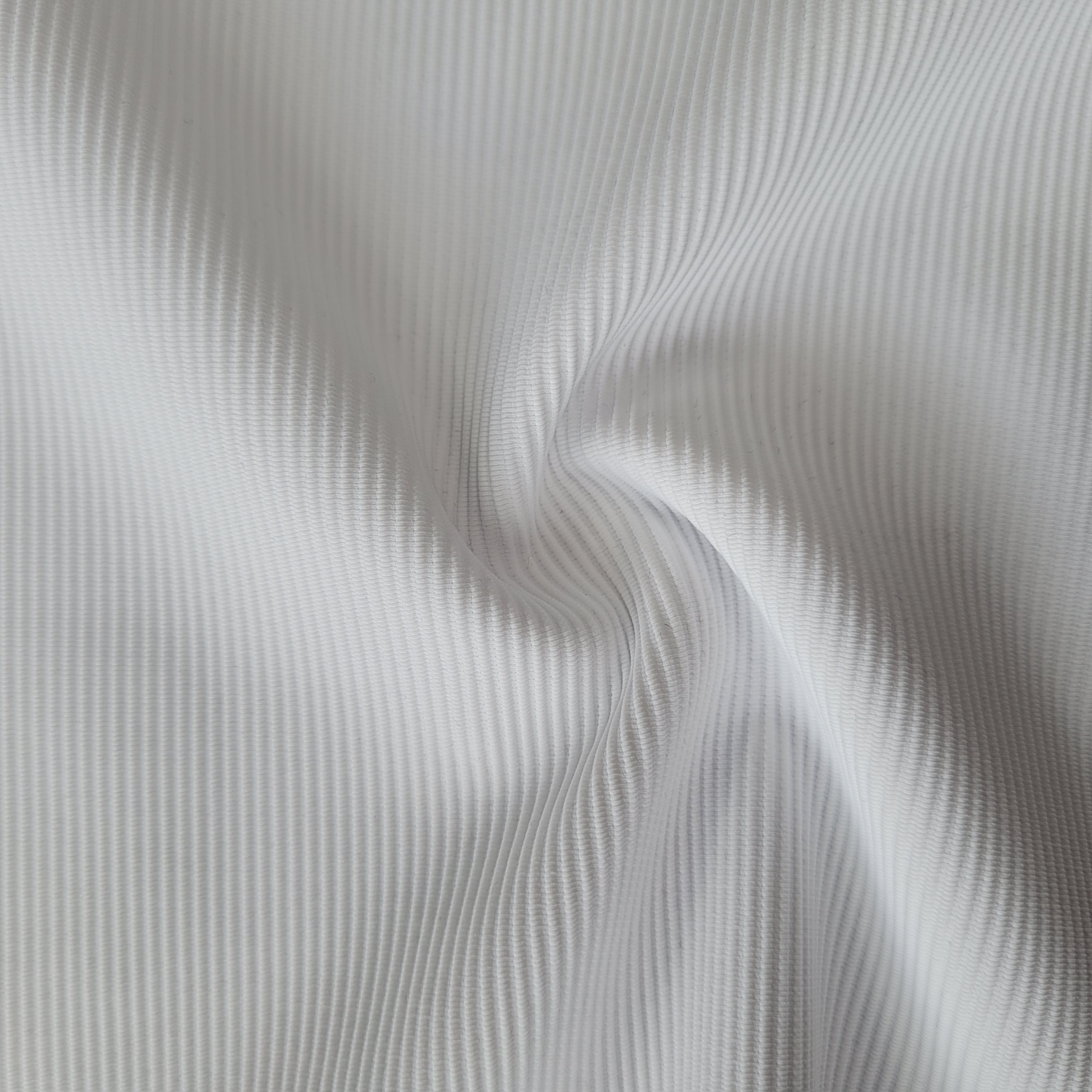 Best-selling pop polyester and spandex knitted rib fabric for yoga strap