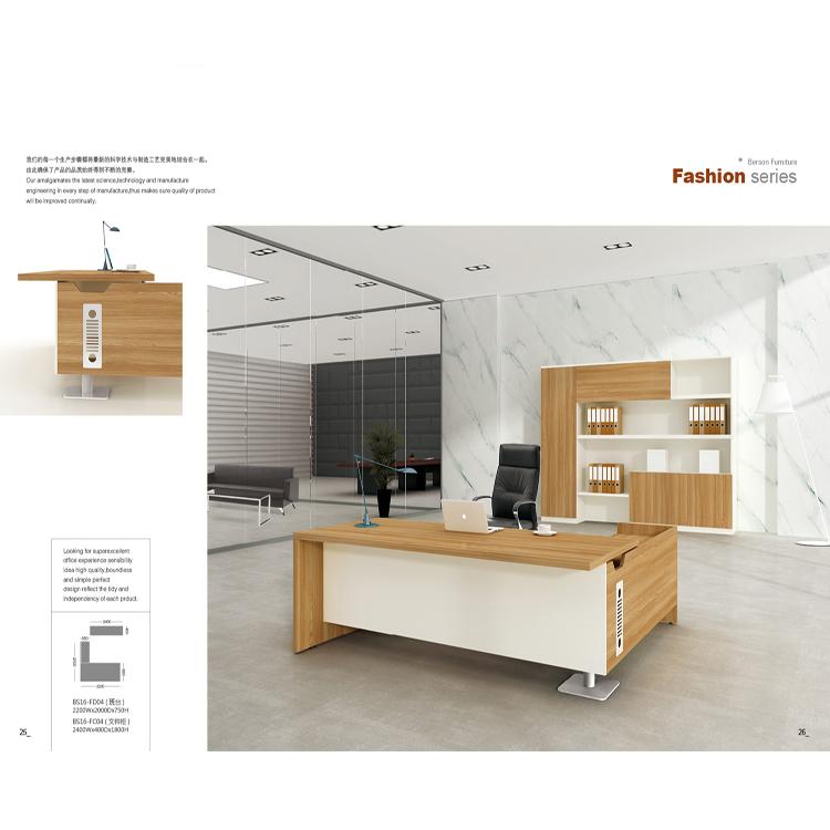 CEO Boss Director Office Desk Luxury Office Furniture Table Big Size Executive Desk