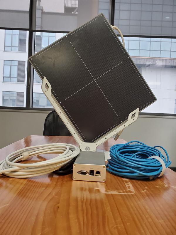 Новое поступление, портативный очищенный плоский панельный детектор/14 '* 17' многоцелевой радиографический плоский панельный детектор