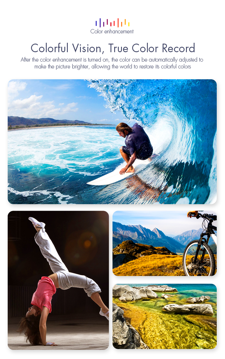 2021 Novelty Aksiyon Kamerasi Wifi Action Video Camara Deportiva Waterproof Bike Helmet Dv 60Fps Ultra Hd 4K Sport Camera
