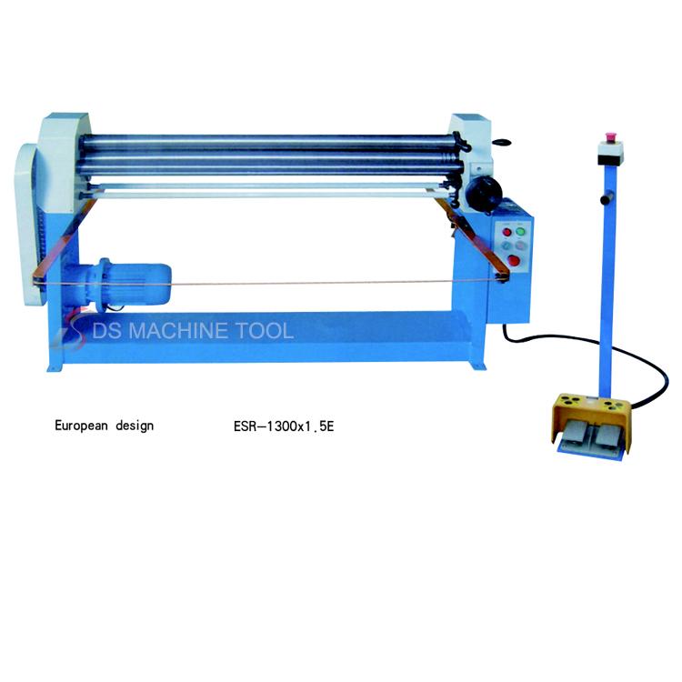 Europe design  ESR 1300X1.5E Electric Slip Rolling Machine Metal Small Electric Slip Roll Machine