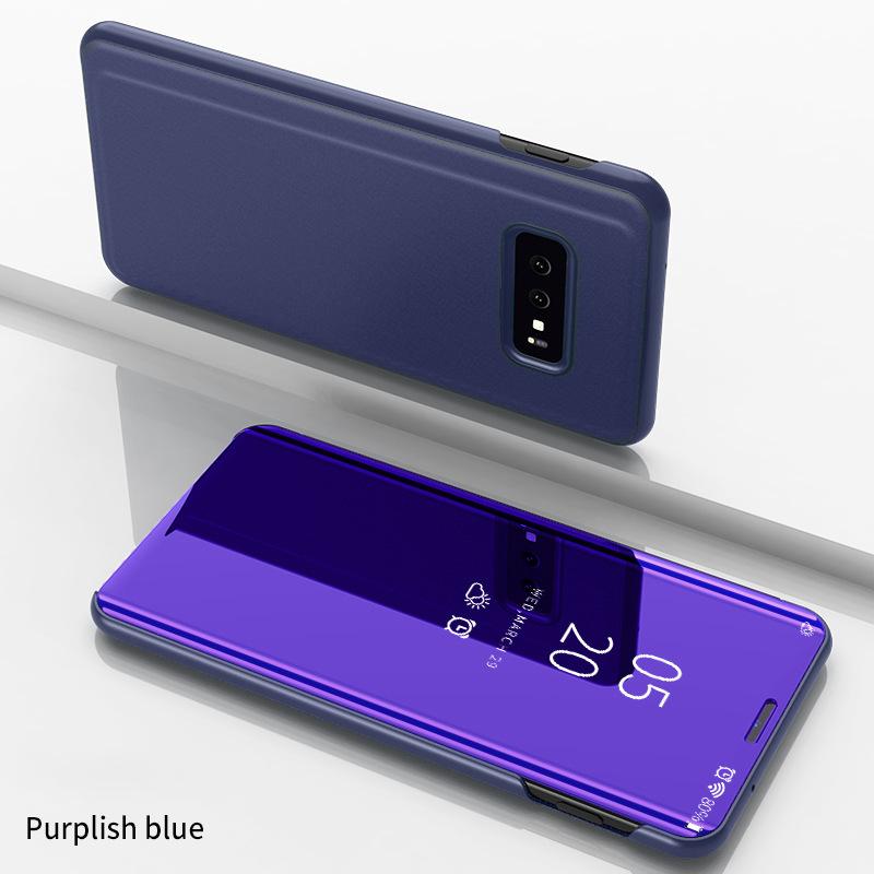 Душь умный зеркальный чехол для телефона для samsung Galaxy S10 S9 S8 плюс A6 A8 A7 Note 8 9 A10 A30 A40 A50 A60 A70 M10 M20 M30 задняя крышка(Китай)