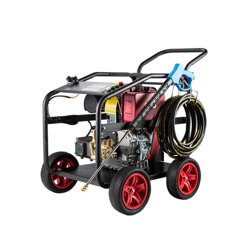 Honda diesel power high-pressure pipeline dredge cleaning machine gasoline car washing machine high-power washing water gun