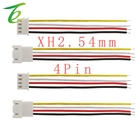 26AWG Cable Length 20CM 4Pin JST XH2.54 Pitch 2.54mm Male Female Plug Socket Wire Connectors for DIY Robots Lighting Appliances