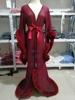 Burgundy Long robe